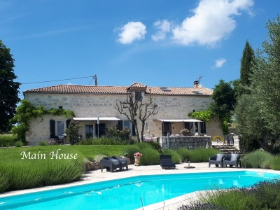 Property with house, guesthouses, 7ha
