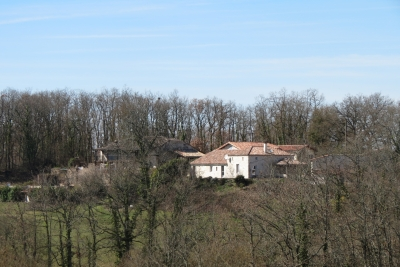 Property with gîtes and bed and breakfast